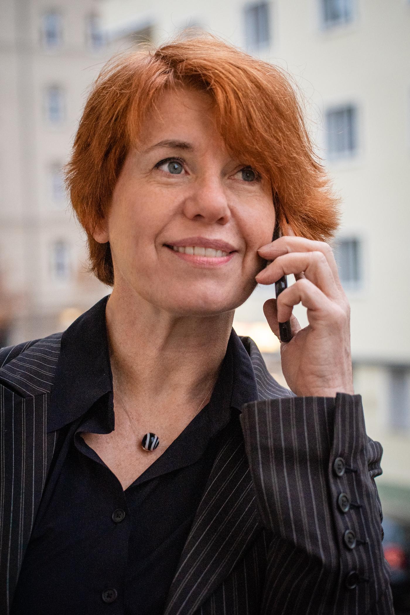 Portrait  Annette Erbe